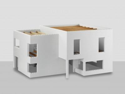 Bausteine für ein 100 qm Haus