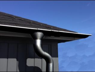 Satteldach Metall Dachrinnensets Typ 300 M