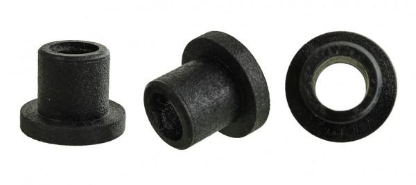Lagerbuchsen - 25er Pack - rund - schwarz