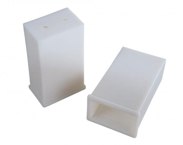 Schalldämm- und Schwingungshülse 60 x 40 / 50 x 30 100 mm lang - 2er Pack